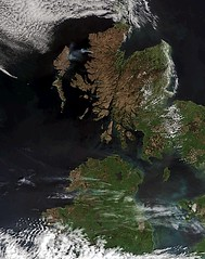 Earth from Space: Record dryness (karadogansabri) Tags: esa europeanspaceagency european space agency earthfromspace greatbritain dryness ireland scotland england satellite envisat