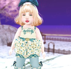 ♡ Pᴏsᴛ 2 ♡ (asuryn) Tags: second life sl winter kid baby child toddler cute blog blogger toddleedoo bento outfit fashion