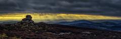 Stiperstones Shropshire panoramic (seantindale) Tags: stiperstone shropshire england uk olympus omd em1markii landscape panoramic hiking explore