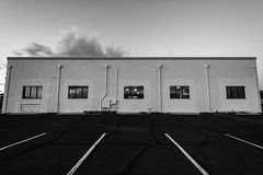 Mode Inc, Sunset (Dalton Radcliffe) Tags: building black white line arizona scottsdale nikon d7100 wide angle 1024mm lightroom adobe