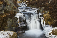 You're As Cold As Ice (steve_whitmarsh) Tags: aberdeenshire scotland scottishhighlands highlands ice waterfall rocks longexposure frozen water stream burn topic