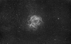 Rosette Nebula exercise (Eddie Yip) Tags: rosettenebula nebula ngc2237 paktamchung skymemo optolong asi120mm 玫瑰星雲