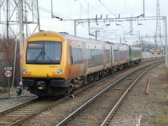 Bescot Combo (The Walsall Spotter) Tags: westmidlandsrailway class153dmu 153354 class170turbostar 170511 bescotstadiumstation overheadlineequipment thechaseline combo ukmultipleunits