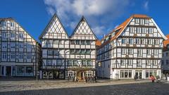 Soester Markt (staetebau) Tags: deutschland germany soest markt market fachwerkhaus halftimbered