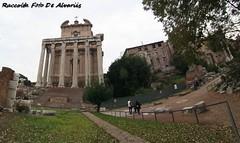 1843 2007 2019 Foro Romano, Il Tempio di Antonino e Faustina b (Roma ieri, Roma oggi: Raccolta Foto de Alvariis) Tags: fororomanoiltempiodiantoninoefaustina fotoalvaroedelisabettadealvariis 2007 rionecampitelli roma rome lazio italy