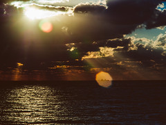 P1091261 (mr. Wood) Tags: ep5 computar olympus cyprus paphos larnaca mediterranian waves sunset sea water sky