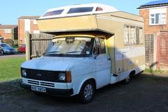 Ford Transit Campervan (R.K.C. Photography) Tags: fordtransit campervan van 1982 classic british xke580x royston hertfordshire england unitedkingdom uk canoneos100d
