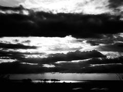 GFX0083 - Clouds (Diego Rosato) Tags: clouds nuvole mare sea cielo sky isole islands panorama landscape paesaggio bianconero blackwhite rawtherapee fuji gfx50r fujinon gf63mm sperlonga italia italy