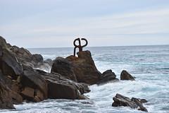 Peine del Viento - Eduardo Chillida (manon.sln) Tags: peine del viento eduardo chillida spain san sebastian mer rocher nikon
