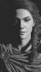 20181101231105_1 (Gantzz) Tags: assassinscreed assassinscreedodyssey assassin creed odyssey ubisoft game gamer gaming screenshot wallpaper art digital hunter sparta spartan spartans athen athena zeus god gods hades cyclops oneeye nature greekworld greek greece mythology myth animus spears swords shields sailing ship female kassandra beautiful supernatural beasts monsters 300 wolf spartana natur portrait blackandwhite