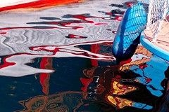 The Phantasm series. (RKAMARI) Tags: 2016 cities mersin abstraction color marina phantasm reflections sea water flickrsbest