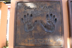 "Roy E. Disney's Disney Legends Plaque • <a style=""font-size:0.8em;"" href=""http://www.flickr.com/photos/28558260@N04/44015758730/"" target=""_blank"">View on Flickr</a>"