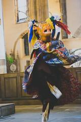 IMG_1631 (foretfantome) Tags: tibetan dance costume strasbourg tibet danse noir et blanc foret fantome guillermo gomez 5d mk 3 eglise church ethno bouddhisme