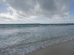 2017-04-24_08-34-53 Stormy Beach (canavart) Tags: sxm stmartin stmaarten fwi orientbeach orientbay tropical ocean beach stormy storm clouds waves sand surf caribbean