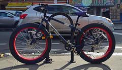 Mongoose Fat Bike (thoth1618) Tags: ny nyc newyork newyorkcity fatbike fattirebike bike bicycle mongoose brooklyn fortgreene