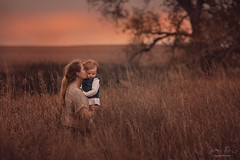 Me & Viv ({jessica drossin}) Tags: jessicadrossin woman mother child toddler love family together country rural grass sunset kiss wwwjessicadrossincom