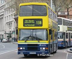 Dublin Bus RA220 (95D10220). (Fred Dean Jnr) Tags: april2005 dublin dublinbus busathacliath dublinbusyellowbluelivery volvo olympian alexander r collegegreendublin ra220 dbrook 95d10220 m455ukn