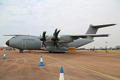54+10 Airbus A400M German Air Force RIAT RAF Fairford 13th July 2018 (michael_hibbins) Tags: 5410 airbus a400m german air force riat raf fairford 13th july 2018 transport cargo freighter freight defence strategic military aircraft aeroplane aviation aerospace airplane aero airshow prop private props propeller turboprop turbos turbo a400