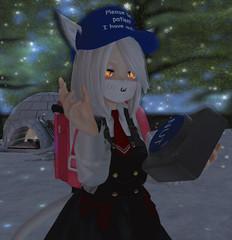 No nut november (Bunny doll) Tags: meme cute kawaii second life secondlife gif anime kemono ahs2 mokyu catgirl slanime secondlifegif animated