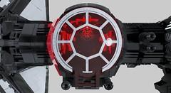 First Order TIE-SF Heavy Bomber (lamborghiniwafflesauce) Tags: lego legomoc legocreation legostarwars digital firstorder moc mecabricks photorealistic photorealism starwarssequels render starwars tiefighter theforceawakens starwarsix tiebomber tie thelastjedi legomania starwarsmoc