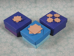 Joyeux Noël ! (Mélisande*) Tags: mélisande origami box masu teruel