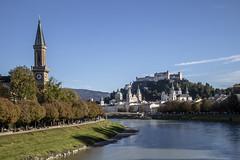 Back in Salzburg (noname_clark) Tags: vacation europe austria salzachriver salzburg water river
