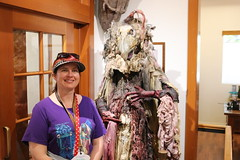 "Tracey and a Skeksis • <a style=""font-size:0.8em;"" href=""http://www.flickr.com/photos/28558260@N04/44890449915/"" target=""_blank"">View on Flickr</a>"