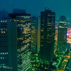 Tokyo by night (tripklik) Tags: tokyo tokio japan japon night cityscape skyscraper edo