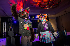 DSC09047 (Kory / Leo Nardo) Tags: pacanthro pawcon paw con pac anthro convention fur furry fursuit suiting mascot sona fursona san jose doubletree hotel california dance party deck animals costuming pupleo 2018