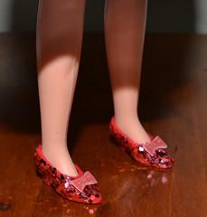 Ruby Slipper Test (trev2005) Tags: multi toys wizard oz dorothy gale judy garland doll figure ruby slippers obitsu shes