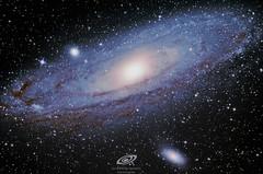 M31 Andromeda galaxy (and M32, M110) (gerardtartalo) Tags: galaxy galaxies galaxia galaxias universe universo cosmos telescope telescopio star stars astrophotography astrofotografia astronomy astronomia