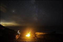 Always Remember Your First (xldwoodslx) Tags: olympicnationalpark washington canon 5dmarkiii stars camping nature beach