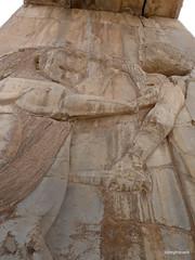005 Hundred Column Hall (Sedsetoon), SE Doorway, Persepolis  (4).JPG (tobeytravels) Tags: artaxerxes xerxes ahurmazda alexanderthegreat