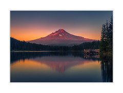 MT Hood (andreassofus) Tags: mthood trilliumlake oregon mountain mountainscape water lake mirror reflection reflections nature landscape grandlandscape outdoor america travel travelphotography sunset eveing color colorful sunlight lastlight summer summertime