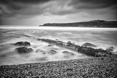 fuar (northernscape) Tags: sigma merrill mono bw stonehaven sea beach moody seascape coast longexposure bmnpawweek6 nd10 scotland