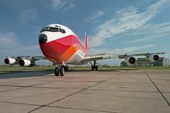 B707 (D2-TON) Angola Air Charter (boeing-boy) Tags: angolaaircharter d2ton mikeling boeingboy b707 manston mse