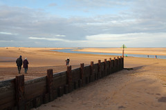 Holkham Bay Norfolk.. (Adam Swaine) Tags: beach norfolk seascape seaside sea eastanglia coastal coast rural wellsnextthesea uk ukcounties sand england english britain british winter canon eastcoast beautiful