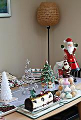 2018 Sydney: Christmas Lunch (dominotic) Tags: 2018 food chocolate dessert caramelpassionfruitcheesecakebûchedenoël yᑌᗰᗰy foodphotography spodechristmastree christmasfood seasonal sydney australia