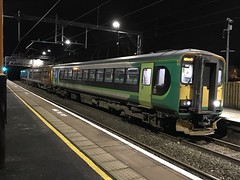 WMR 153371 and 170508 @ Hednesford train station (ianjpoole) Tags: west midlands trains class 153 super sprinter 153371 170 turbostar 170508 working 2k93 hednesford birmingham new street service started from due late running caused by stormyweather