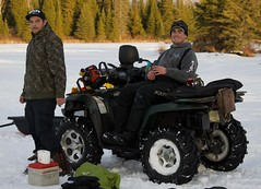 Chase and Nelson (Pwern2) Tags: winter canadian canada wilderness thebush friendlymanitoba friendly talking ruralmanitoba ruralbeauty conversations enjoyinglife friends friendship atvs atv nature pedruchnybay lakewinnipeg snow ice beer pointdubois beauty tradition