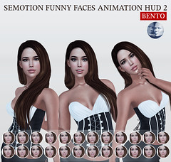 SEmotion Funny Faces Animation HUD 2 Gacha for Genus heads @ GachaLand (Marie Sims) Tags: ao animations animation avatar anim animaitons animaions animated aohud animarions amused angry event 3d expression emotion expressions release trendy trend talking tongue typing yummy hud funny fun inworld pose poses posing photographer photosl photo ptoho hq semotion sl secondlife stands slfashion slavatar sweet modeling fashion female fancy feelings facial face flirty gift girl girly gacha genus hot holidays jealous woman bento blogger new