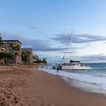 Sunset cruise at Kaanapali beach Maui, Hawaii thumbnail