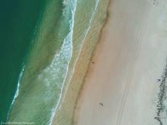 Bribie Island - Woorim Beach, Queensland, Australia (Morph2212) Tags: drone sea beach sand queensland bribieisland
