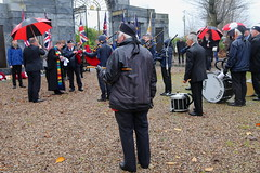 Kirkintilloch Remembrance Day, 2018. (Paris-Roubaix) Tags: 1st lenzie boys brigade bb kirkintilloch remembrance day parade 2018 east dunbartonshire townhead cowgate peel park war memorial pipe band