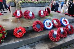 Remembrance 2018 (charliejb) Tags: remembrance2018 remembrancesunday remembrance worldwar1centenary thegreatwarcentenary westburyontrym bristol 2018 wewillrememberthem lestweforget ww1 poppy poppyappeal cenotaph wreath poppywreaths