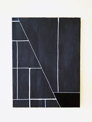 Dark cut (ah.ja) Tags: abstract art shapes geometry geometricalart minimal minimalism gallery contemporary acrylic painting