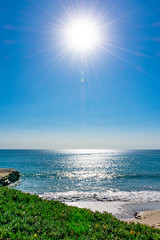 Lighthouse Point (Eric Bloecher) Tags: ocean landscape sunny california santa cruz sky water sun view beautiful