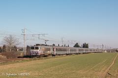 La BB 7293 file avec le 4762 Marseille - Bordeaux (Sylvain COSTES) Tags: bb7200 corail train locomotive railway intercités
