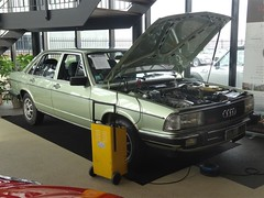 1980 Audi 100 5E (harry_nl) Tags: netherlands nederland 2018 waalwijk audi 100 5e lexclassics