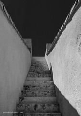 Stairs to Nowhere (Petoskey Drones) Tags: steps escalier marches murs ciel